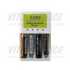 Ładowarka do baterii alkalicznych i akumulatorów AA, AAA