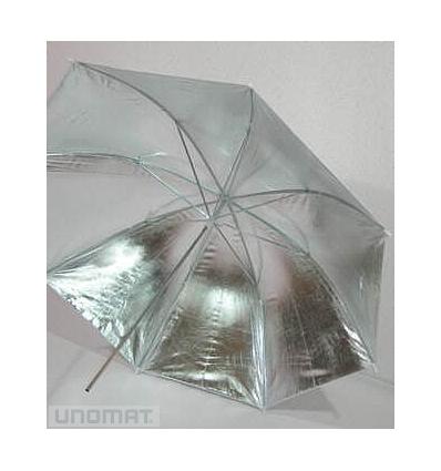 Parasolka srebrna 90 cm