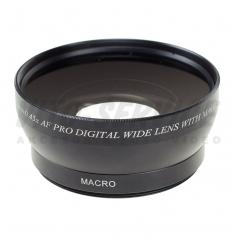 Obiektyw konwersyjny szerokokątny 0,45x 58mm + macro W045-58BMA