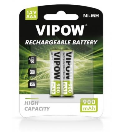 Akumulatorki VIPOW R03 AAA 900 mAh Ni-MH 2szt/bl